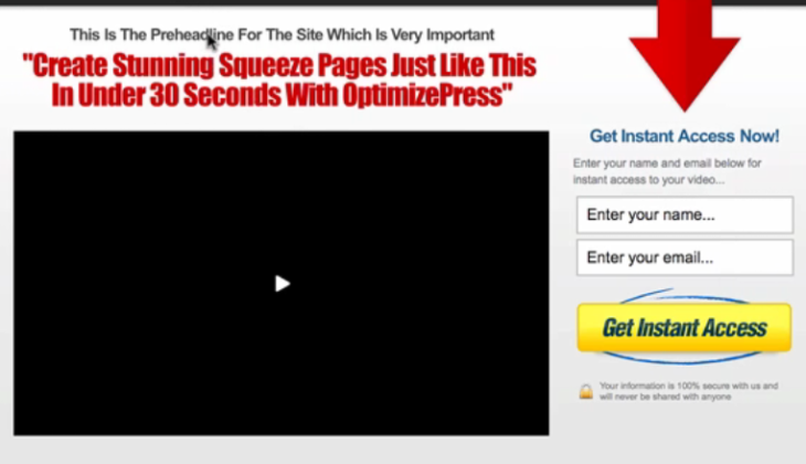 Optimize Press Review