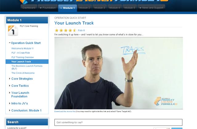 Product Launch Formula – Jeff Walker