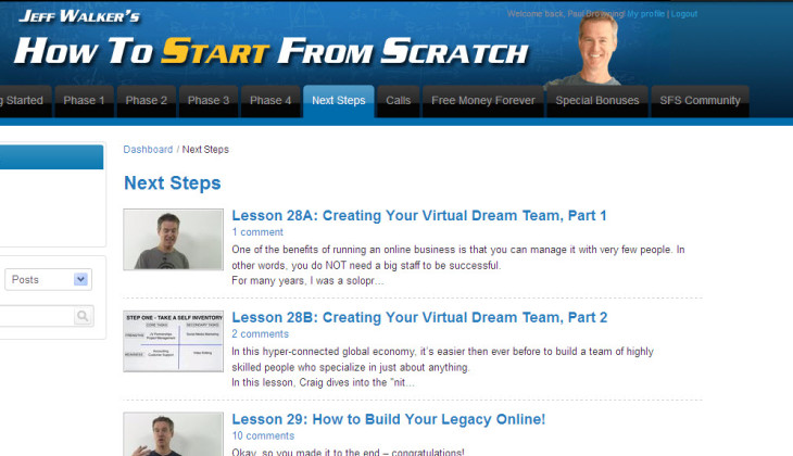 Start From Scratch – Jeff Walker