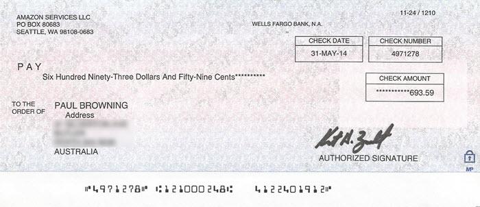 Free Money – From Amazon